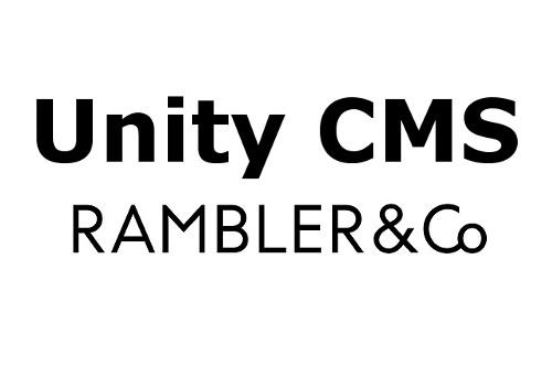 Unity CMS - Единая медийная издательская платформа Rambler&Co